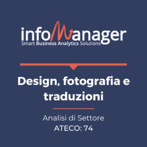 """Analisi economico-finanziaria del settore """"Design, fotografia e traduzioni"""""""
