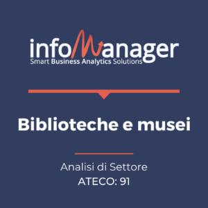 """Analisi economico-finanziaria del settore """"Biblioteche e musei"""""""