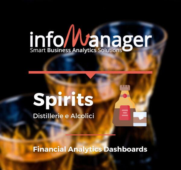 Piattaforma di analisi economico-finanziaria sulle distillerie e aziende produttrici di alcolici